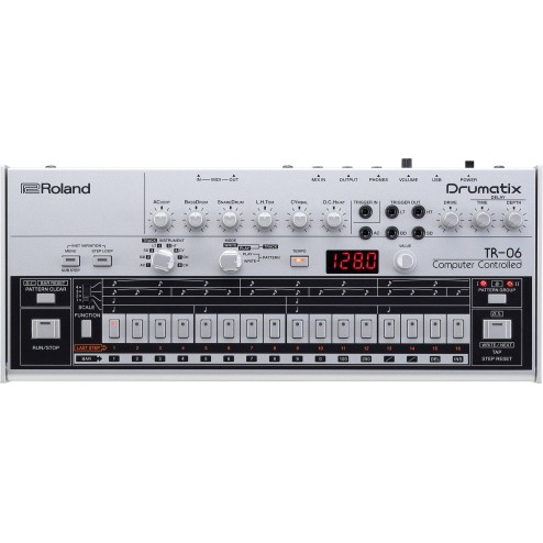 Roland TR-06 Drum machine e step sequencer modulare