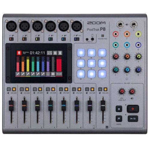 ZOOM P8 Mixer/Registratore podcast portatile