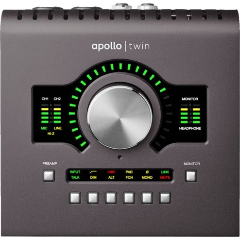UNIVERSAL AUDIO APOLLO TWIN MKII | HERITAGE EDITION Interfaccia audio 10x6 Thunderbolt