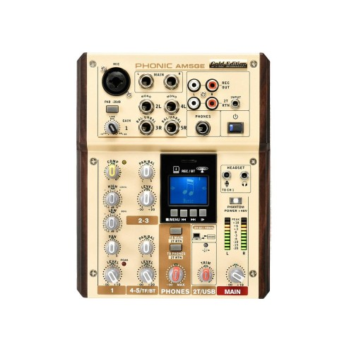PHONIC AM 5 GE Mixer a 5 canali