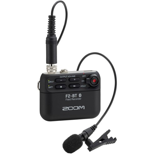 ZOOM F2-BT Field recorder bluetooth con microfono lavalier