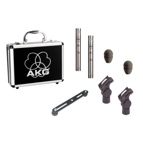 AKG C451 B MATCHED PAIR Microfono a condesatore cardioide (stereo set)