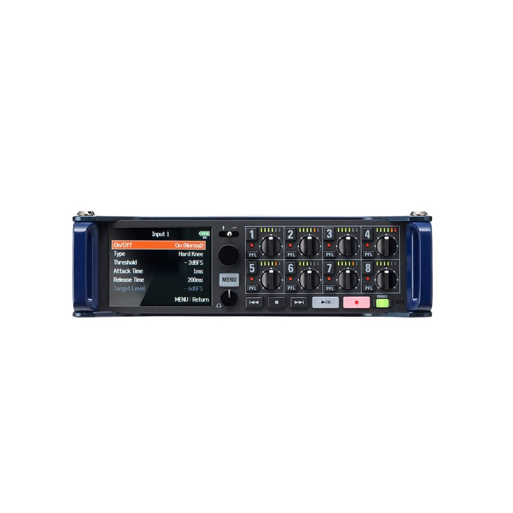 ZOOM F-8N Registratore Multitraccia  8 Ingressi 24-bit/192 kHz