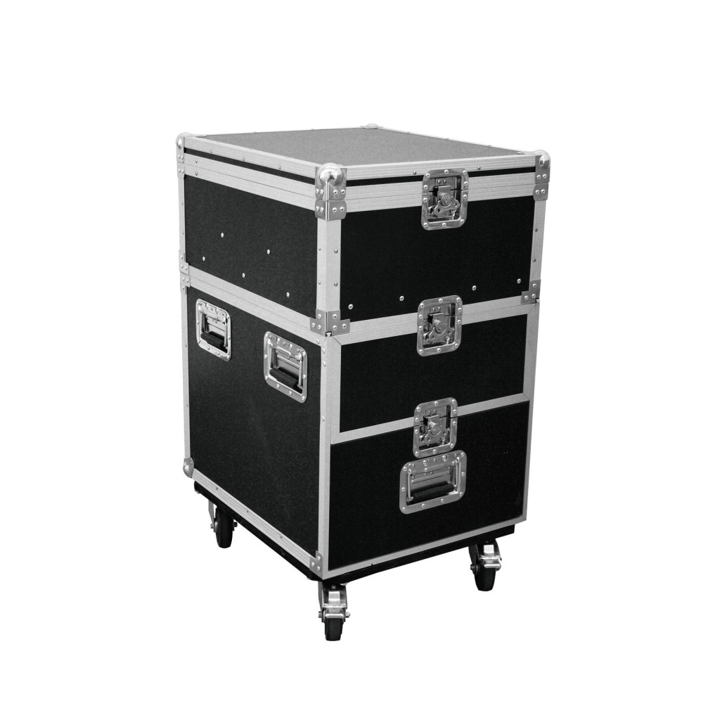 ROADINGER Flight Case Roadie Universale con Rotelle