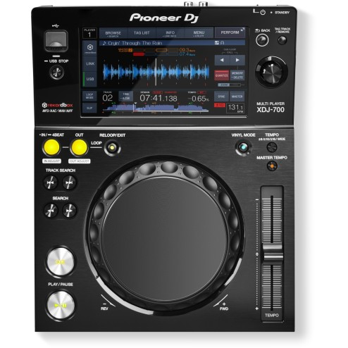 PIONEER XDJ-700 LETTORE DJ MULTIMEDIALE TOUCH SCREEEN