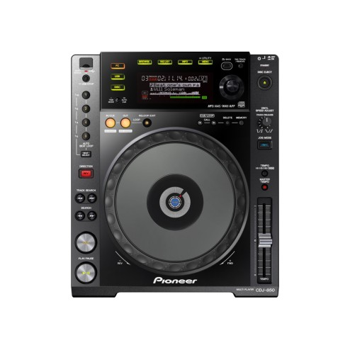 PIONEER CDJ-850-K Deck digitale con Full Scratch Jog Wheel