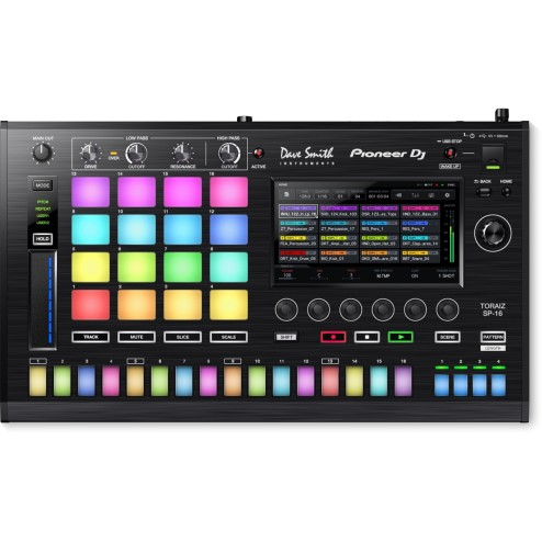 PIONEER TSP-16 SAMPLER STEP SEQUENCER TOUCH SCREEN
