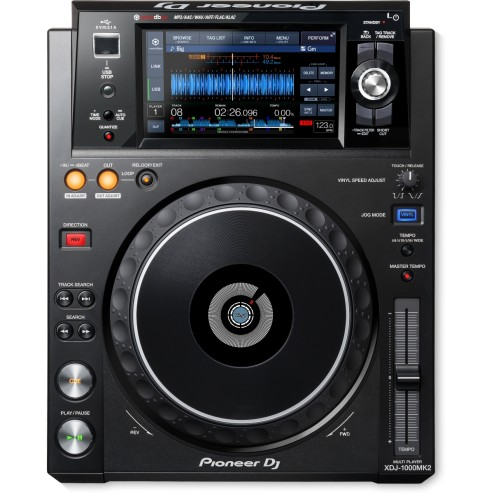 PIONEER XDJ 1000 MKII Deck digitale rekordbox-ready