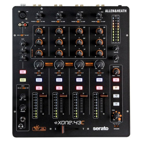ALLEN & HEATH XONE:43C Mixer Dj con interfaccia audio