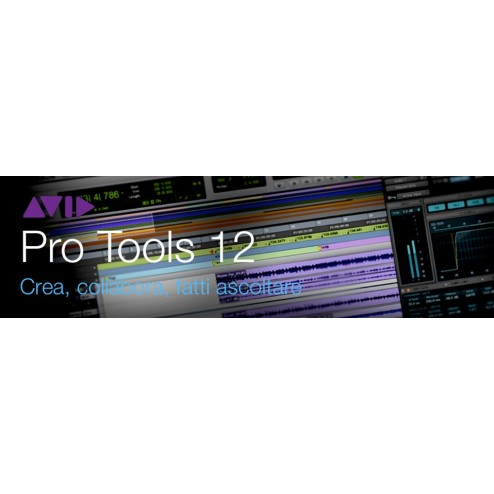PRO TOOLS STUDENT/TEACHER CON UPGRADE E SUPPORT PLAN ANNUALE (CARD + ILOK)
