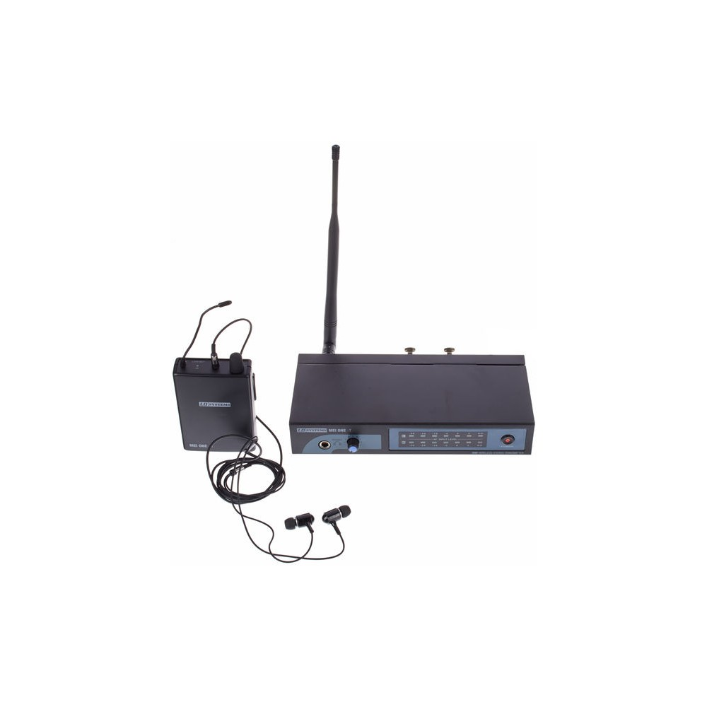 LD SYSTEM MEI ONE 3 SISTEMA WIRELESS IN EAR MONITOR UHF 864,900 MHz