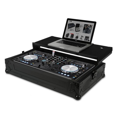 UDG ULTIMATE FLIGHT CASE PIONEER XDJ-R1 BLACK PLUS CASE PROFESSIONALE + LAPTOP COLORE NERO