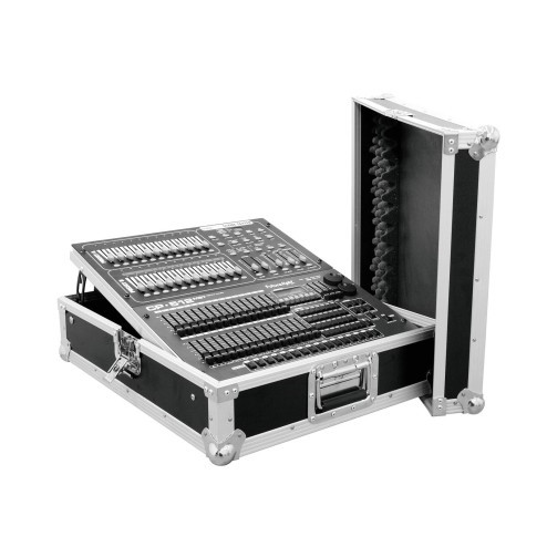 ROADINGER Flightcase per Mixer 12U Nero