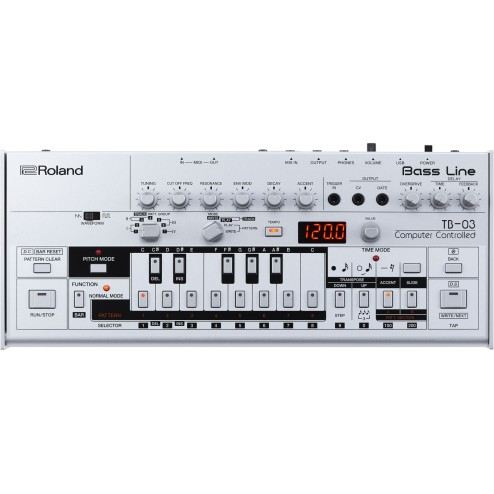 Roland TB 03 Bass Line Modulo Synth