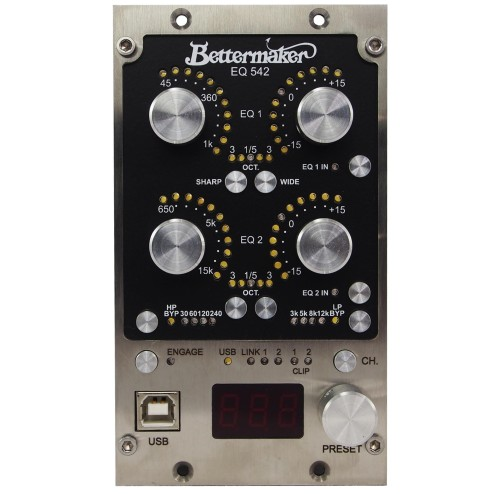 BETTERMAKER EQ 542 EQUALIZZATORE ANALOGICO SERIE 500