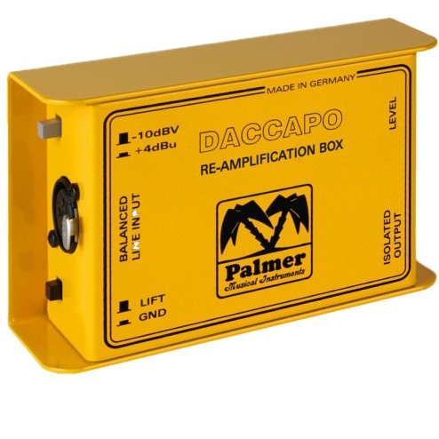 PALMER MI DACCAPO RE-AMPLIFICATION DI BOX