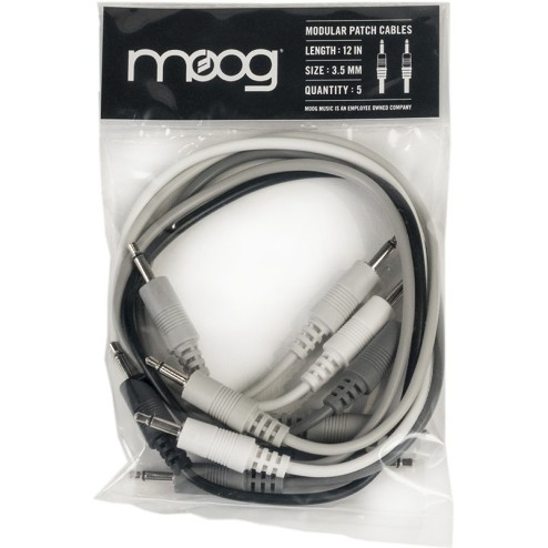 "MOOG MUSIC MOTHER 32 PATCH CABLES CAVI DA 6"" PER MOTHER 32 (5 PEZZI)"