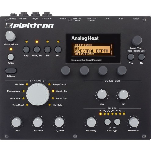 ELEKTRON ANALOG HEAT PROCESSORE AUDIO ANALOGICO STEREO