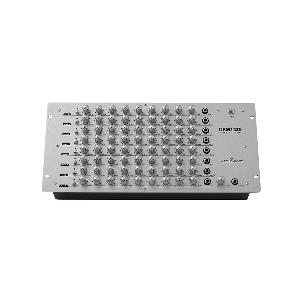 VERMONA DRM1 MKIII TRIGGER DELUXE DRUM MACHINE ANALOGICA CON INGRESSI TRIGGER