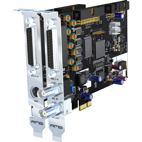 RME HDSPE AES Scheda con I/O AES 32 canali PCI express