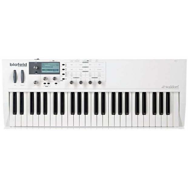 Waldorf Blofeld Keyboard White Synth Multitimbrico a 16 parti con 25 voci