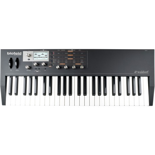 Waldorf Blofeld Keyboard Black Synth Multitimbrico a 16 parti con 25 voci