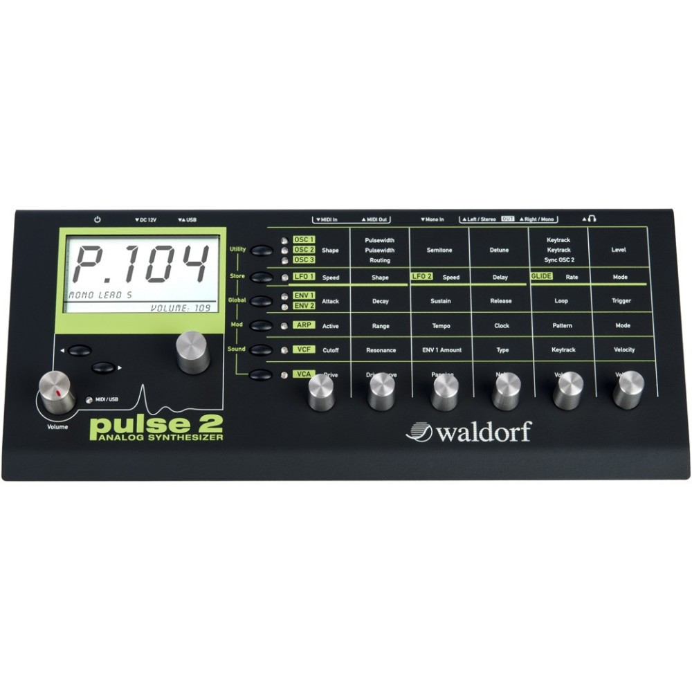 Waldorf Pulse 2 Modulo Synth Analogico Monofonico