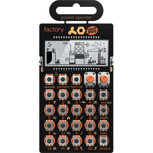 Teenage Engineering PO16 Factory Synth Tascabile melody
