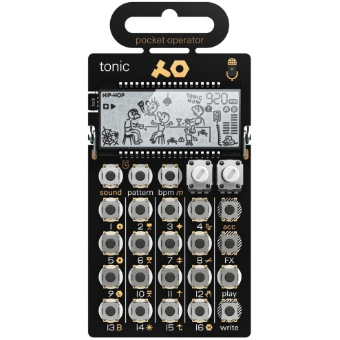 Teenage Engineering PO32 Tonic Synth Tascabile Drum Machine