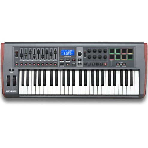 NOVATION Impulse 49 Controller USB-MIDI a 49 tasi con drumpad