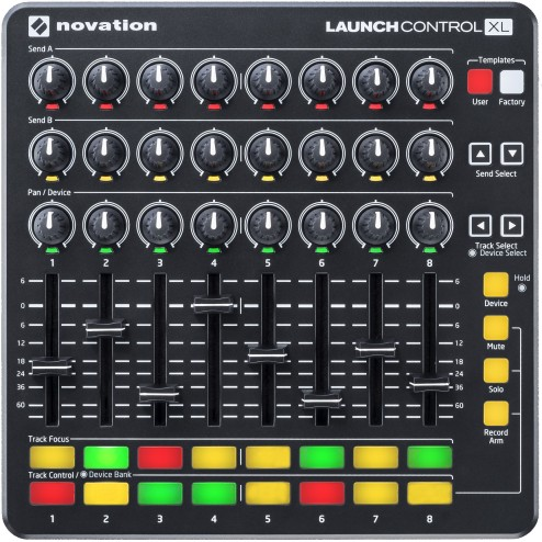 Novation Launch Control XL MK2 Controller Midi Usb