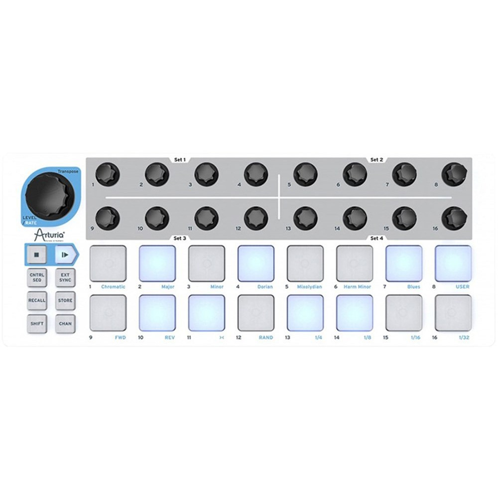 ARTURIA BeatStep Superficie di controllo e step-sequencer