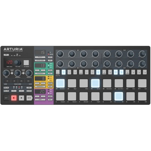 Arturia Beatstep Pro Black Limited Edition Superficie di controllo e step-sequencer