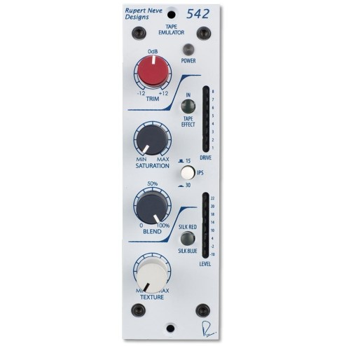 RUPERT NEVE DESIGN 542 Tape Emulator con Variable Silk e Soft Clip Limiter