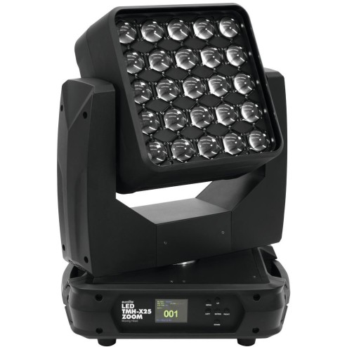 EUROLITE LED TMH-X25 Zoom Moving-Head TESTA MOBILE CON 25 LED RGBW