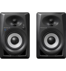 "PIONEER BLUETOOTH DM-40BT Coppia di diffusori monitor da 4"" con bluetooth neri"