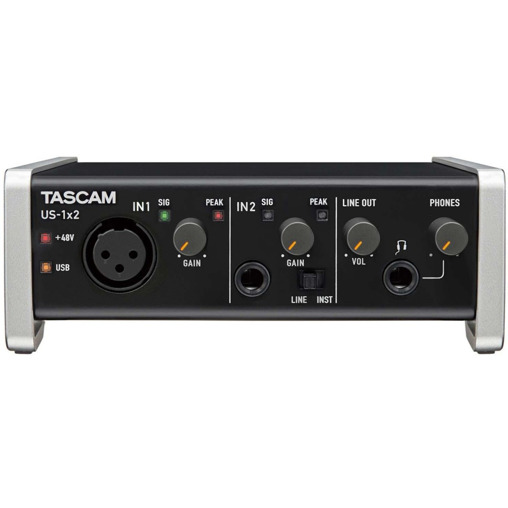 TASCAM US 1X2 SCHEDA AUDIO A 1 CANALE