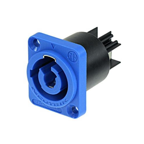 NEUTRIK NAC3MPA-1 PowerCON 20 Amp Chassis Connector a tenuta d'aria, 3 poli maschio, Power-IN Tipo A, FASTON