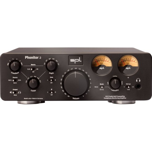 SPL PHONITOR 2 BLACK Preamplificatore per cuffia