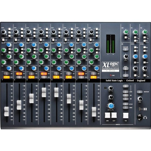 SOLID STATE LOGIC X-DESK Mixer 8 Dualinput 16 out