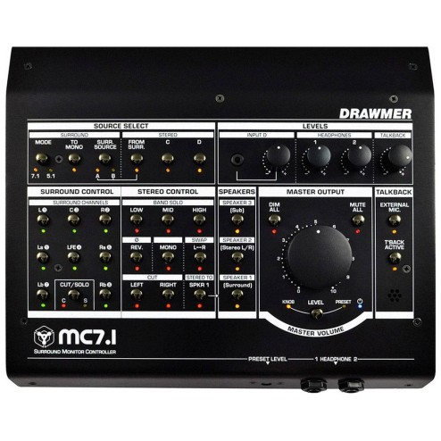 DRAWMER MC7.1 Surround Desktop Monitor Controller