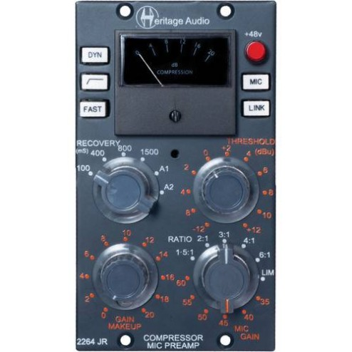 HERITAGE AUDIO 2264 JR Compressore/Pre serie 500
