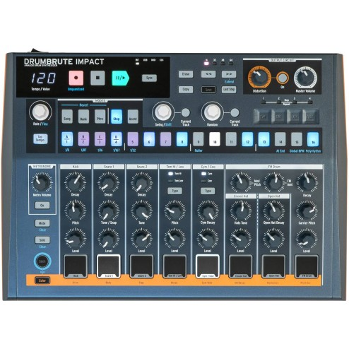 ARTURIA DRUMBRUTE IMPACT Drum machine analogica